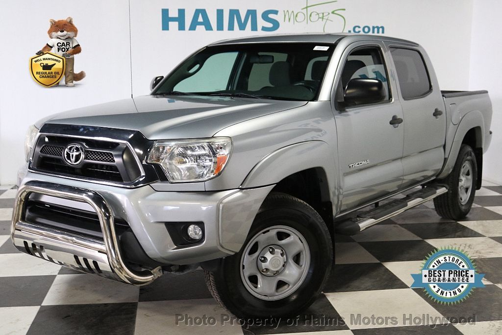 2014 Toyota Tacoma 2WD Double Cab V6 Automatic PreRunner - 18179024 - 0