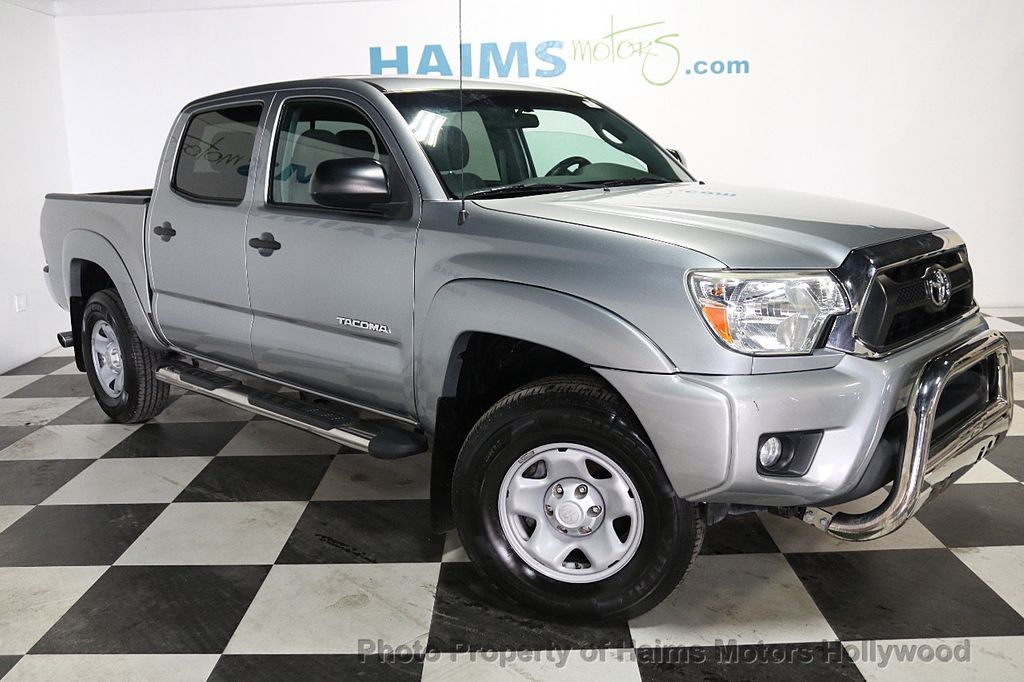 2014 used toyota tacoma 2wd double cab v6 automatic prerunner at haims motors hollywood serving. Black Bedroom Furniture Sets. Home Design Ideas