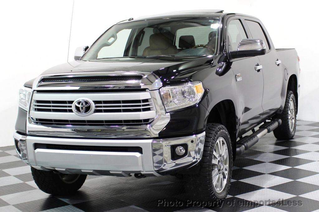 2014 Toyota Tundra CERTIFIED TUNDRA CREWMAX 4WD 1794 EDITION - 16876153 - 0