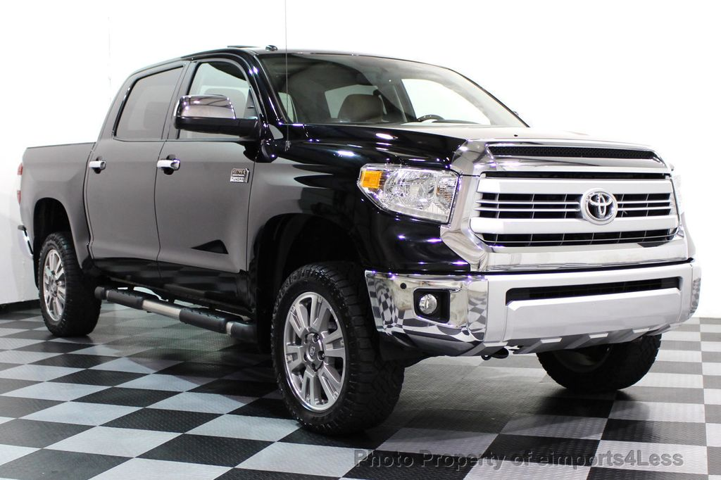 2014 Toyota Tundra CERTIFIED TUNDRA CREWMAX 4WD 1794 EDITION - 16876153 - 34