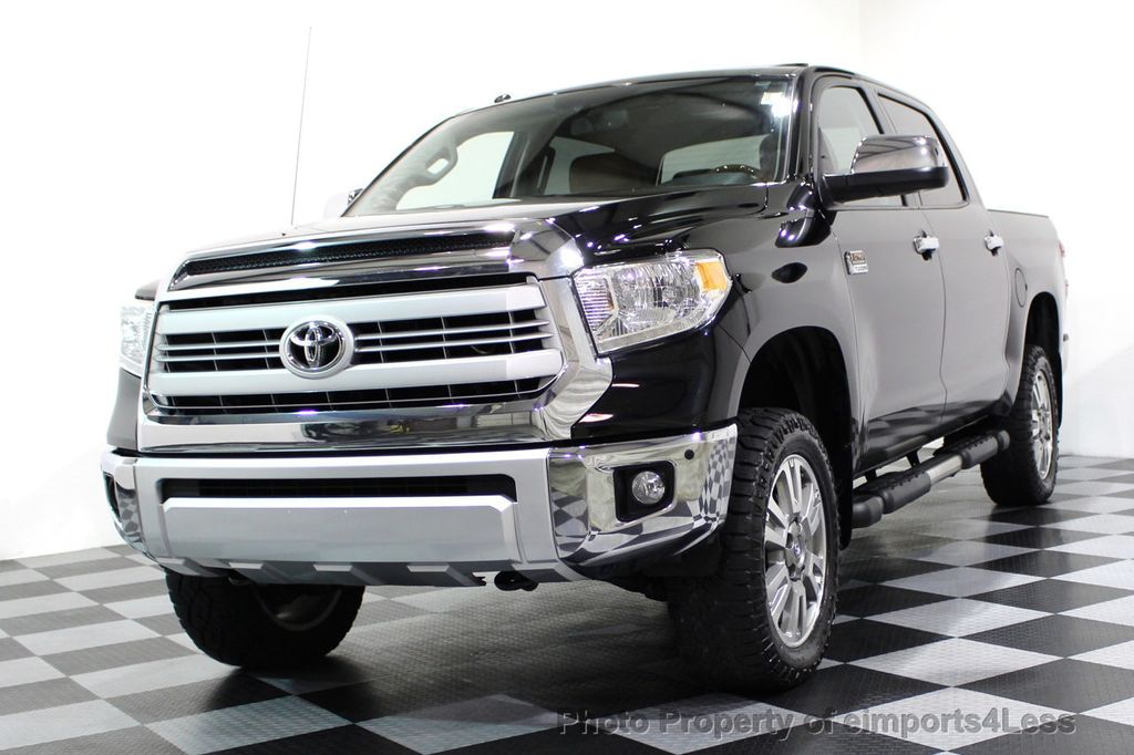 2014 Used Toyota Tundra Certified Tundra Crewmax 4wd 1794 Edition At Eimports4less Serving
