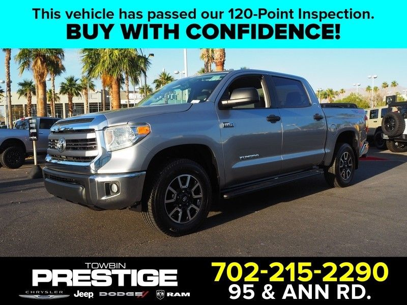 2014 Toyota Tundra CrewMax 5.7L V8 6-Spd AT SR5 (Natl) - 17749457 - 0