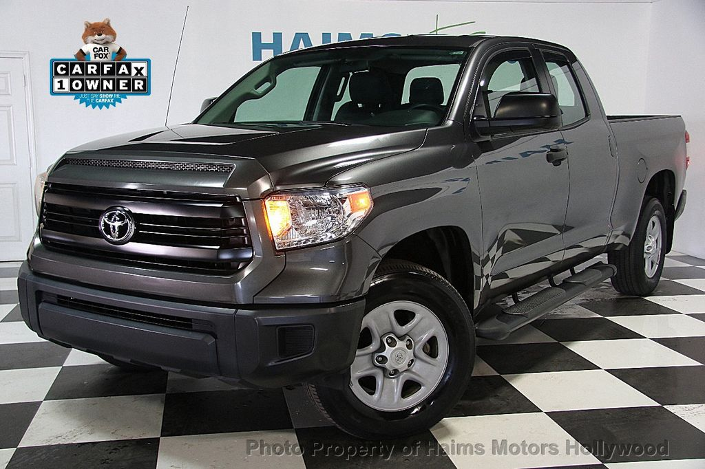 2014 used toyota tundra double cab 4 0l v6 5 spd at sr gs at haims motors ft lauderdale. Black Bedroom Furniture Sets. Home Design Ideas