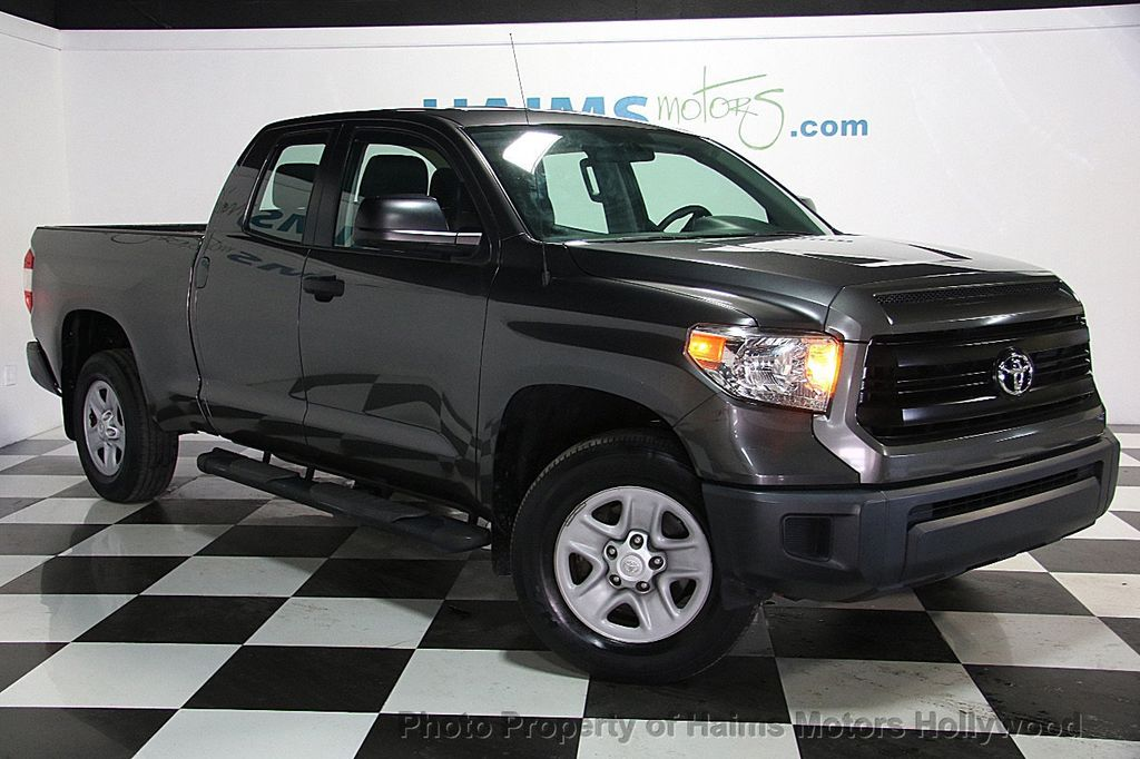 Tundra Double Cab >> 2014 Used Toyota Tundra Double Cab 4.0L V6 5-Spd AT SR (GS ...