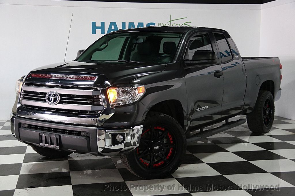 2014 Toyota Tundra Double Cab 4.6L V8 6 Spd AT SR5 (GS)