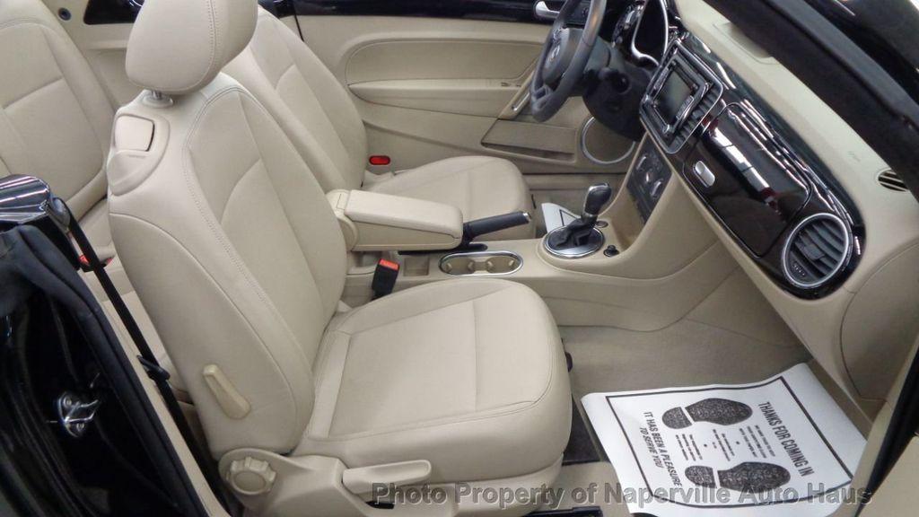 2014 Volkswagen Beetle Convertible 2dr DSG 2.0L TDI w/Premium PZEV - 18465042 - 24