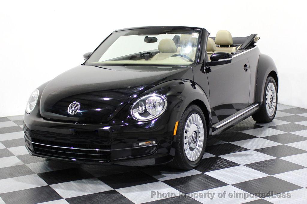 2014 Volkswagen Beetle Convertible CERTIFIED BEETLE 1.8T TURBO CONVERTIBLE - 16876831 - 0