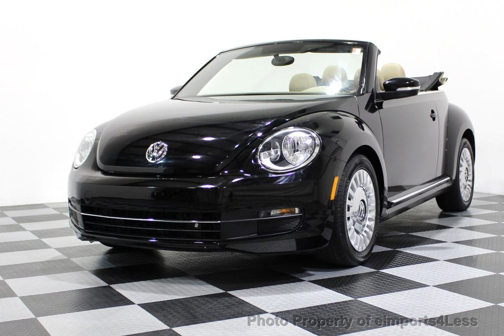 2014 Volkswagen Beetle Convertible CERTIFIED BEETLE 1.8T TURBO CONVERTIBLE - 16876831 - 11