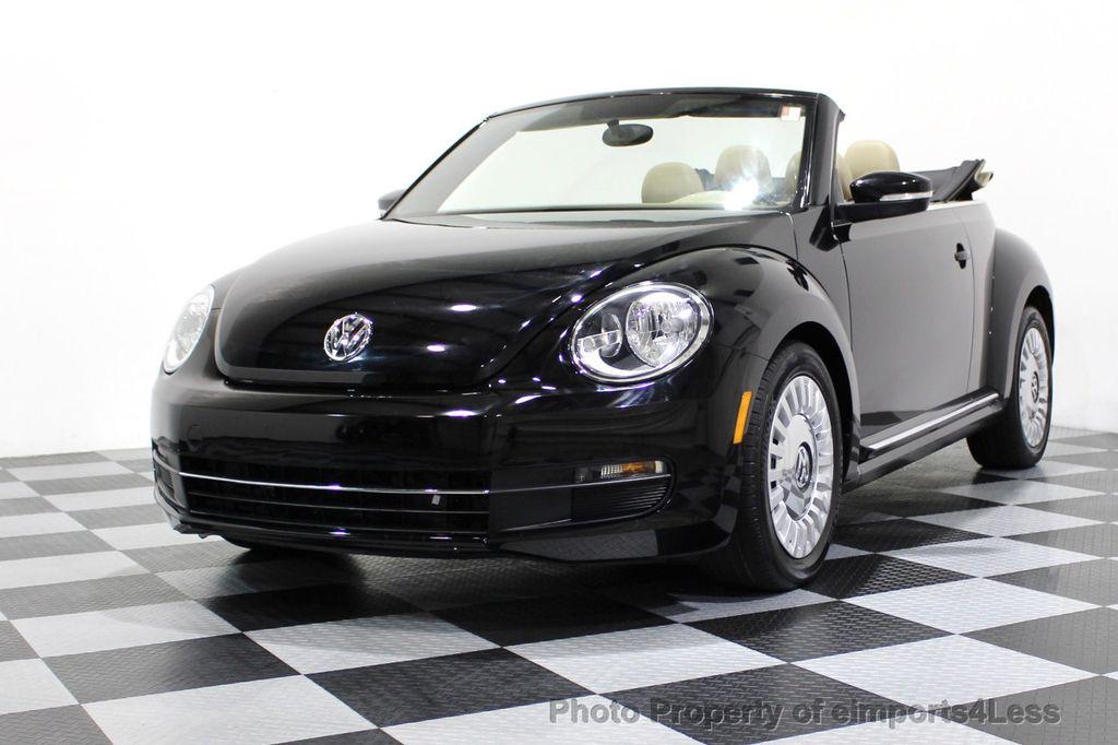 2014 Volkswagen Beetle Convertible CERTIFIED BEETLE 1.8T TURBO CONVERTIBLE - 16876831 - 11
