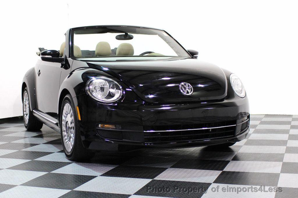 2014 Volkswagen Beetle Convertible CERTIFIED BEETLE 1.8T TURBO CONVERTIBLE - 16876831 - 12