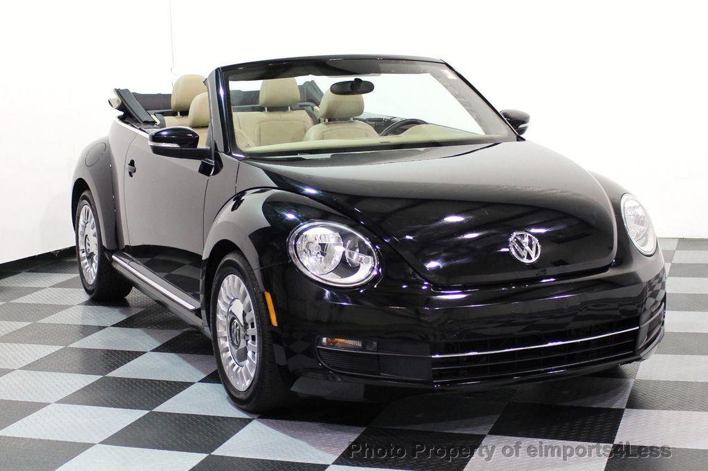 2014 Volkswagen Beetle Convertible CERTIFIED BEETLE 1.8T TURBO CONVERTIBLE - 16876831 - 1