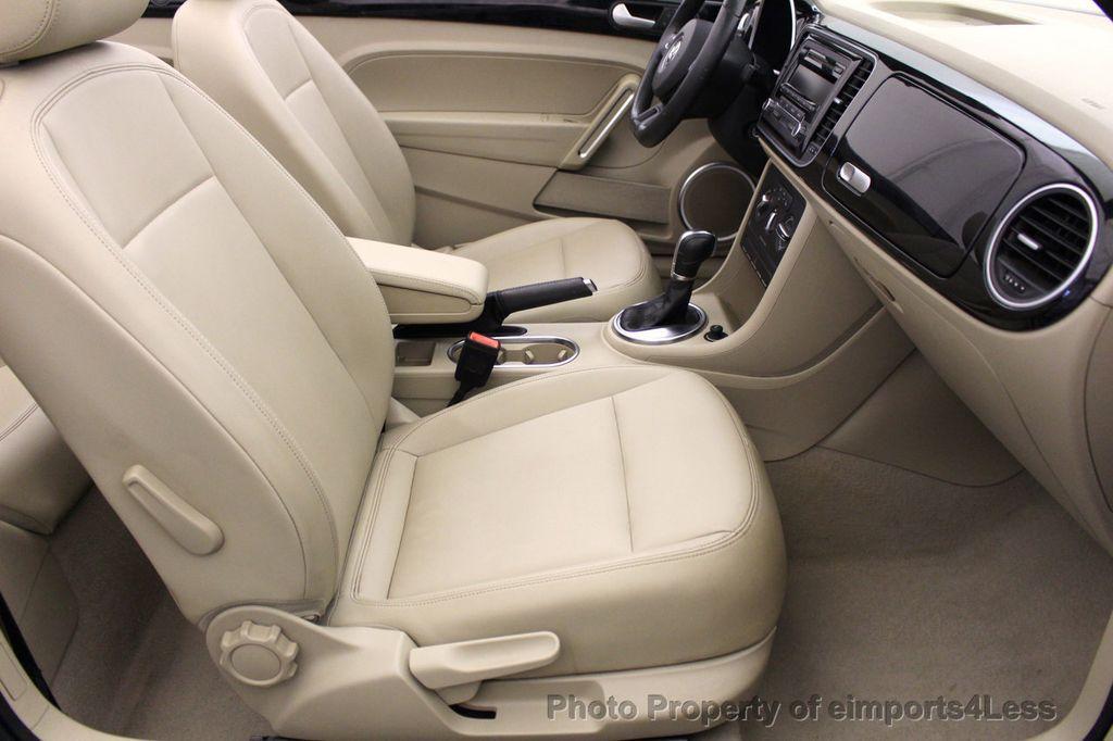 2014 Volkswagen Beetle Convertible CERTIFIED BEETLE 1.8T TURBO CONVERTIBLE - 16876831 - 20