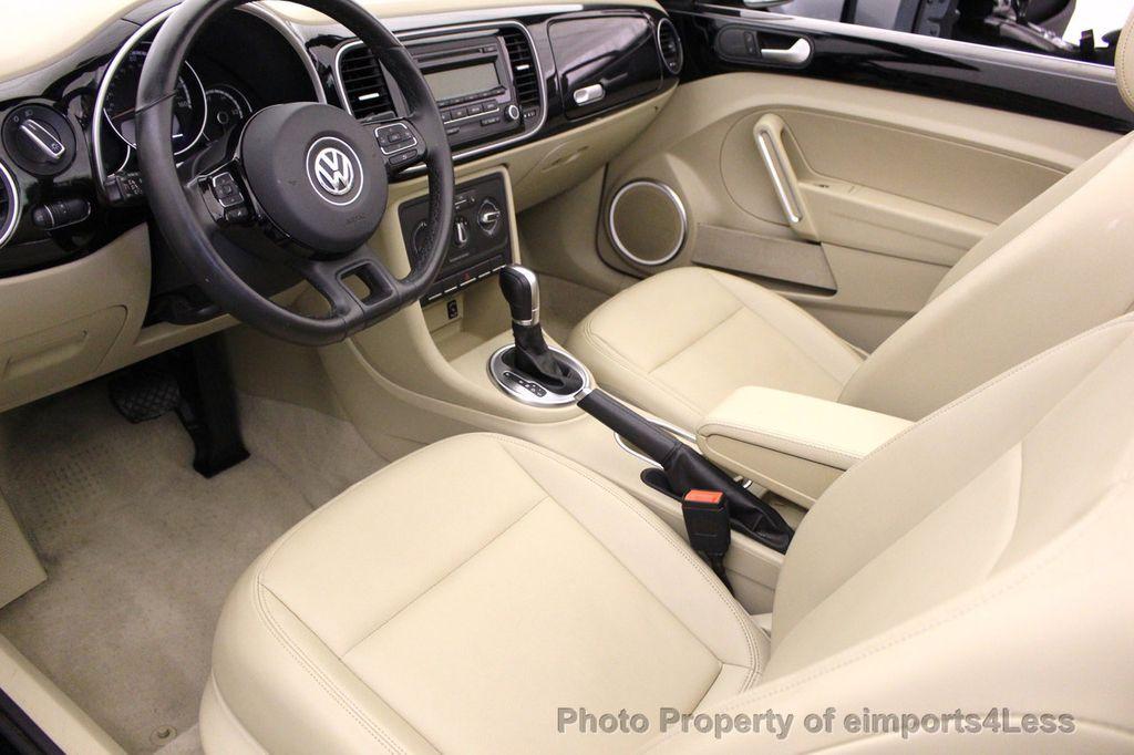 2014 Volkswagen Beetle Convertible CERTIFIED BEETLE 1.8T TURBO CONVERTIBLE - 16876831 - 21