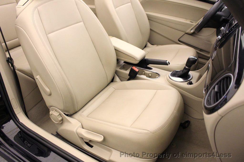 2014 Volkswagen Beetle Convertible CERTIFIED BEETLE 1.8T TURBO CONVERTIBLE - 16876831 - 22