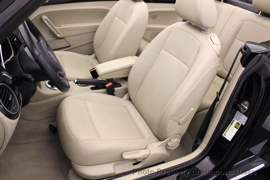 2014 Volkswagen Beetle Convertible CERTIFIED BEETLE 1.8T TURBO CONVERTIBLE - 16876831 - 23
