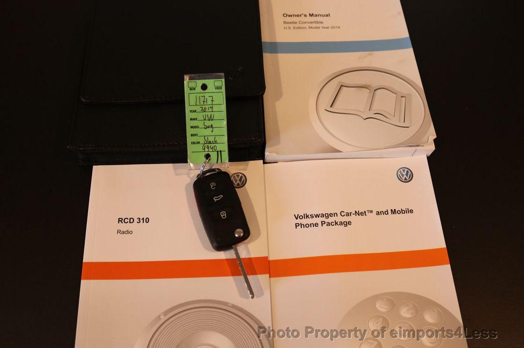 2014 Volkswagen Beetle Convertible CERTIFIED BEETLE 1.8T TURBO CONVERTIBLE - 16876831 - 24