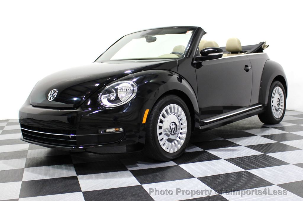 2014 Volkswagen Beetle Convertible CERTIFIED BEETLE 1.8T TURBO CONVERTIBLE - 16876831 - 27