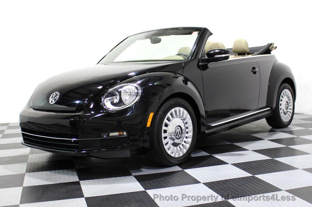 2014 Volkswagen Beetle Convertible CERTIFIED BEETLE 1.8T TURBO CONVERTIBLE - 16876831 - 27