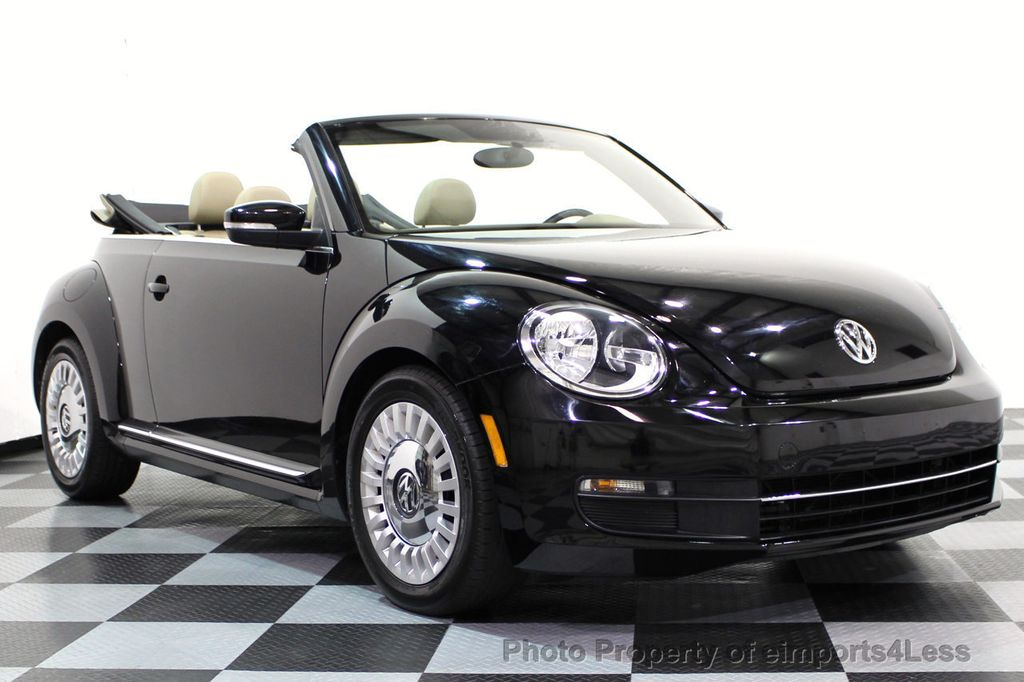 2014 Volkswagen Beetle Convertible CERTIFIED BEETLE 1.8T TURBO CONVERTIBLE - 16876831 - 28