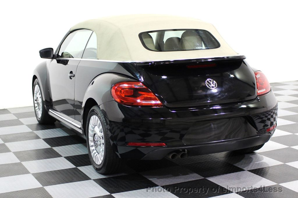 2014 Volkswagen Beetle Convertible CERTIFIED BEETLE 1.8T TURBO CONVERTIBLE - 16876831 - 2