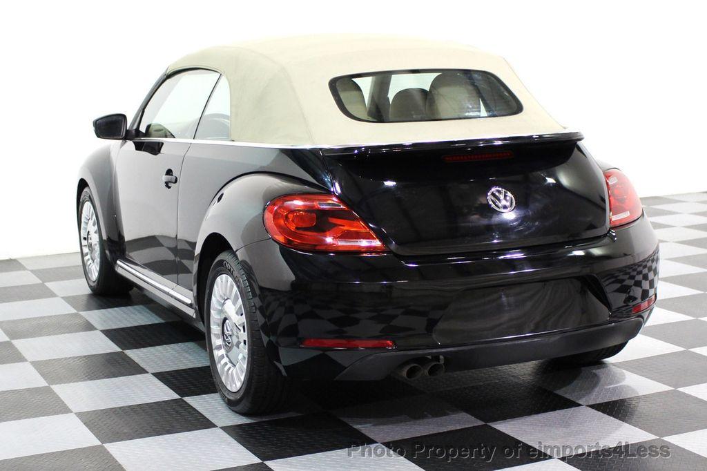 2014 Volkswagen Beetle Convertible CERTIFIED BEETLE 1.8T TURBO CONVERTIBLE - 16876831 - 2
