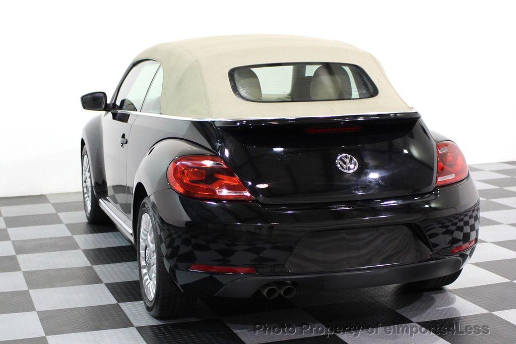 2014 Volkswagen Beetle Convertible CERTIFIED BEETLE 1.8T TURBO CONVERTIBLE - 16876831 - 29