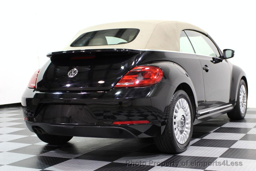 2014 Volkswagen Beetle Convertible CERTIFIED BEETLE 1.8T TURBO CONVERTIBLE - 16876831 - 30