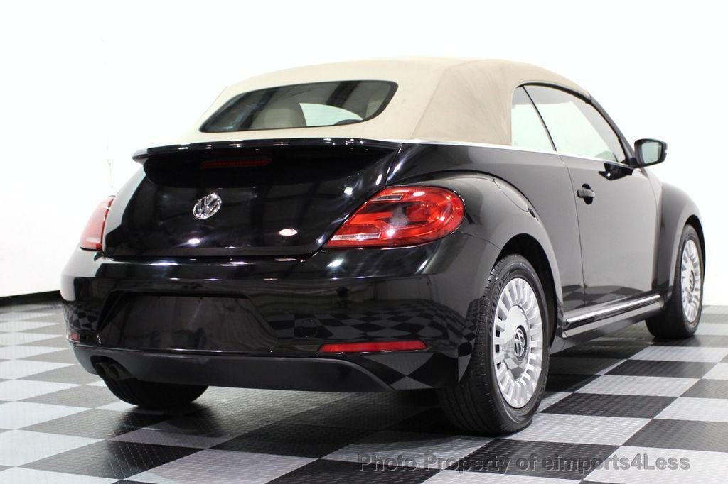 2014 Volkswagen Beetle Convertible CERTIFIED BEETLE 1.8T TURBO CONVERTIBLE - 16876831 - 30