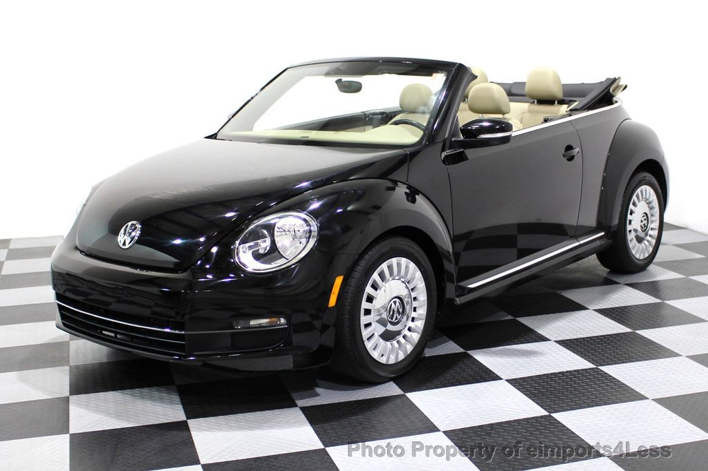 2014 Volkswagen Beetle Convertible CERTIFIED BEETLE 1.8T TURBO CONVERTIBLE - 16876831 - 33