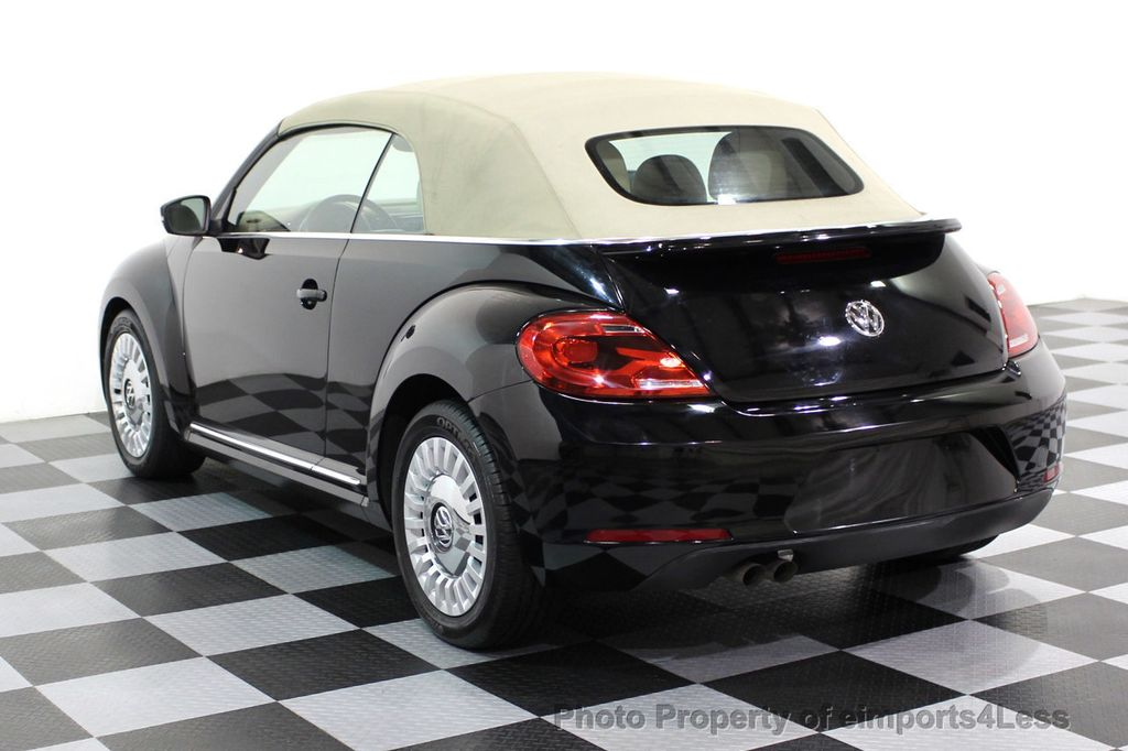2014 Volkswagen Beetle Convertible CERTIFIED BEETLE 1.8T TURBO CONVERTIBLE - 16876831 - 35