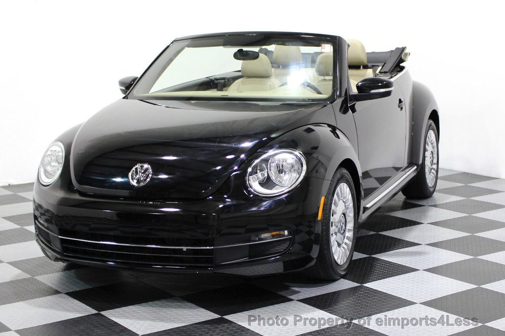 2014 Volkswagen Beetle Convertible CERTIFIED BEETLE 1.8T TURBO CONVERTIBLE - 16876831 - 37