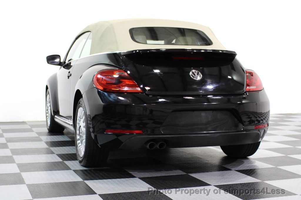 2014 Volkswagen Beetle Convertible CERTIFIED BEETLE 1.8T TURBO CONVERTIBLE - 16876831 - 38