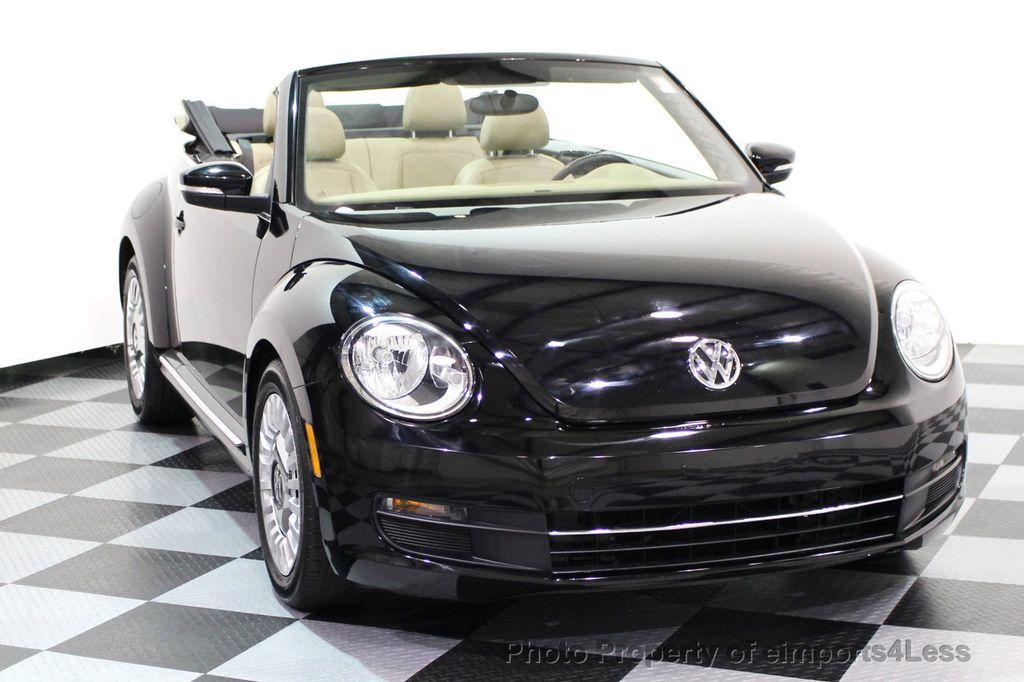 2014 Volkswagen Beetle Convertible CERTIFIED BEETLE 1.8T TURBO CONVERTIBLE - 16876831 - 40
