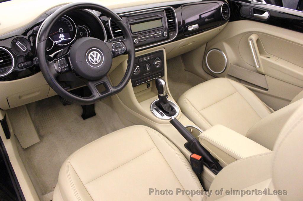 2014 Volkswagen Beetle Convertible CERTIFIED BEETLE 1.8T TURBO CONVERTIBLE - 16876831 - 5