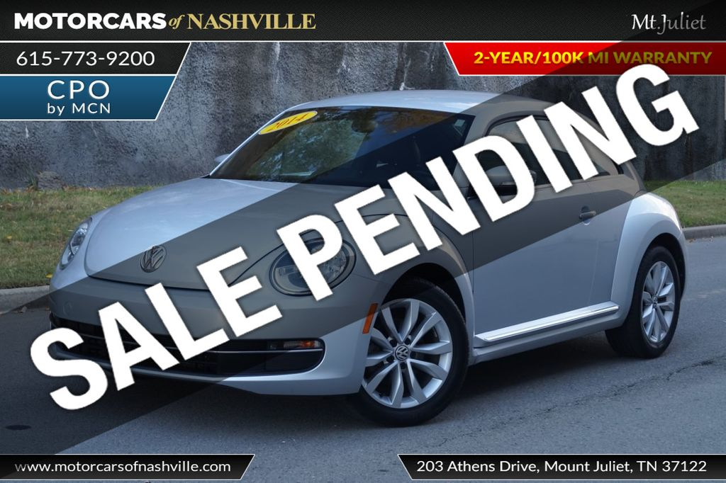 2014 Volkswagen Beetle Coupe 2dr Manual 2.0L TDI - 18203175 - 0