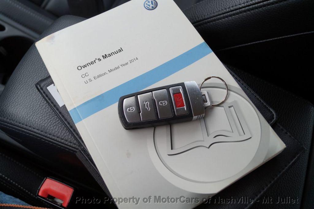 2014 Volkswagen CC Sport - 18203169 - 39