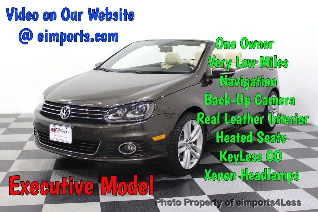 2014 Volkswagen Eos CERTIFIED EOS EXECUTIVE XENON NAV CAM DYNAUDIO - 18346381 - 0