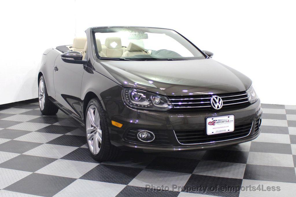 2014 Volkswagen Eos CERTIFIED EOS EXECUTIVE XENON NAV CAM DYNAUDIO - 18346381 - 15