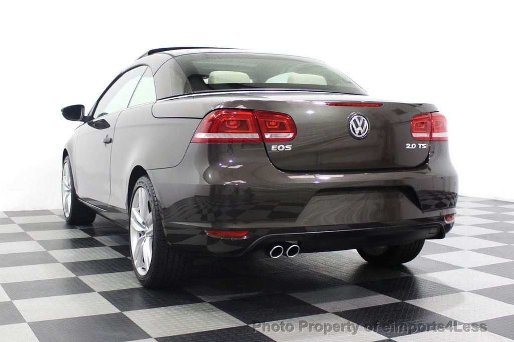 2014 Volkswagen Eos CERTIFIED EOS EXECUTIVE XENON NAV CAM DYNAUDIO - 18346381 - 16