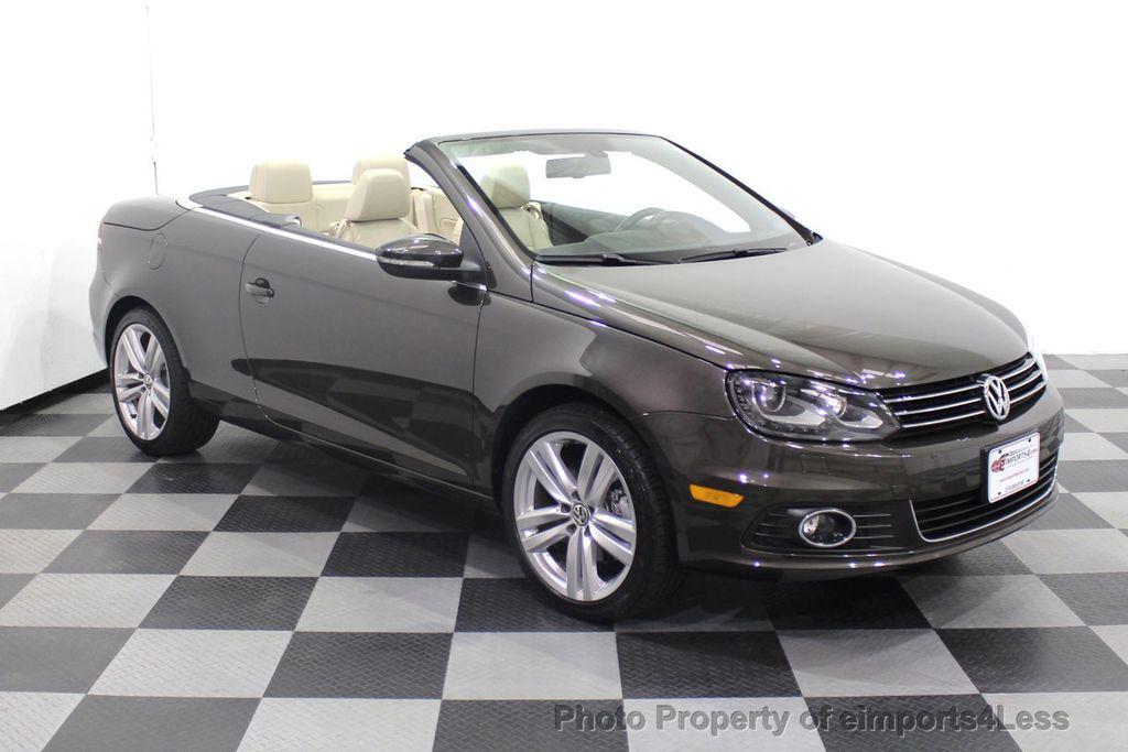 2014 Volkswagen Eos CERTIFIED EOS EXECUTIVE XENON NAV CAM DYNAUDIO - 18346381 - 1