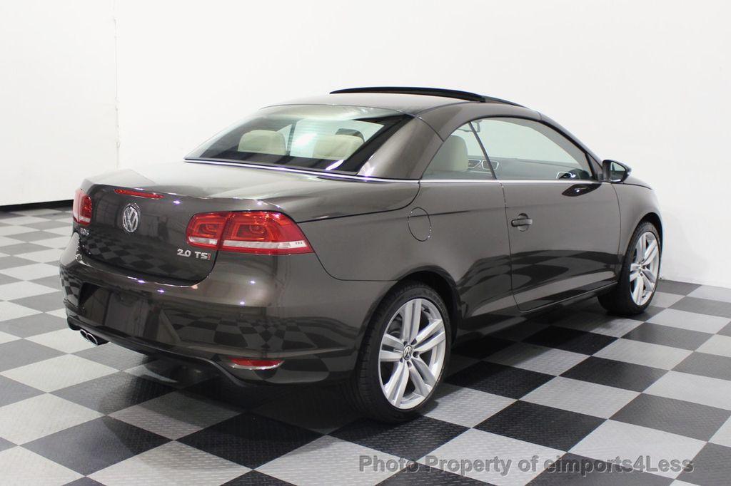 2014 Volkswagen Eos CERTIFIED EOS EXECUTIVE XENON NAV CAM DYNAUDIO - 18346381 - 19