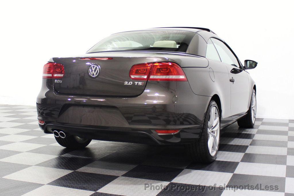 2014 Volkswagen Eos CERTIFIED EOS EXECUTIVE XENON NAV CAM DYNAUDIO - 18346381 - 32