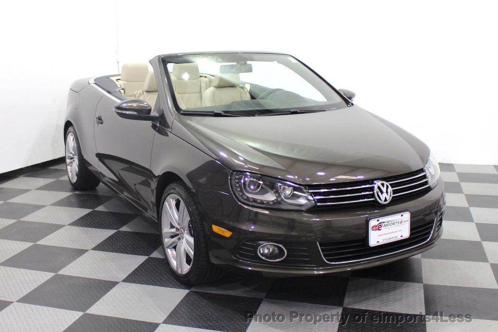 2014 Volkswagen Eos CERTIFIED EOS EXECUTIVE XENON NAV CAM DYNAUDIO - 18346381 - 46