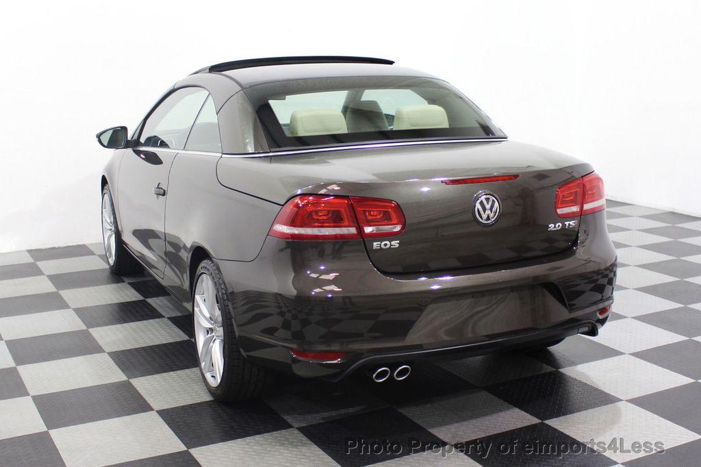 2014 Volkswagen Eos CERTIFIED EOS EXECUTIVE XENON NAV CAM DYNAUDIO - 18346381 - 47