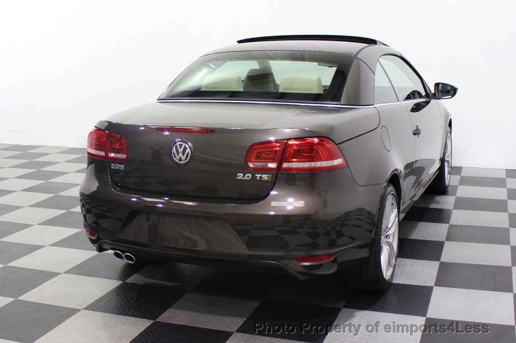 2014 Volkswagen Eos CERTIFIED EOS EXECUTIVE XENON NAV CAM DYNAUDIO - 18346381 - 48