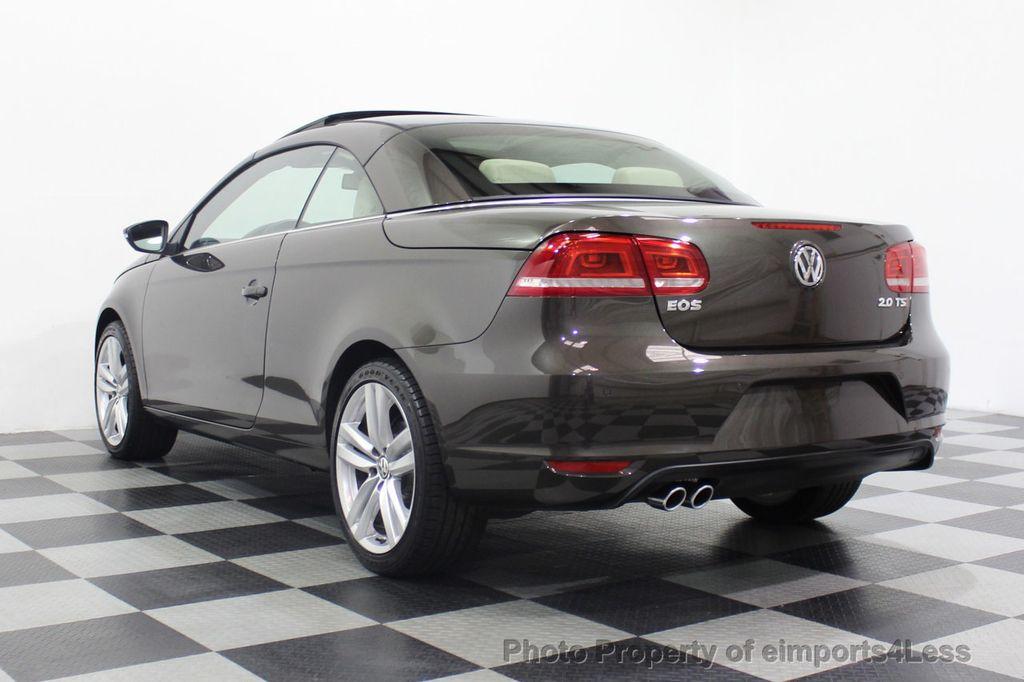 2014 Volkswagen Eos CERTIFIED EOS EXECUTIVE XENON NAV CAM DYNAUDIO - 18346381 - 54