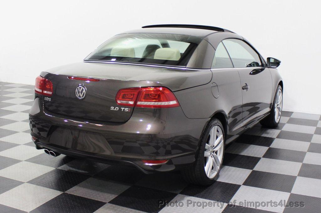 2014 Volkswagen Eos CERTIFIED EOS EXECUTIVE XENON NAV CAM DYNAUDIO - 18346381 - 55