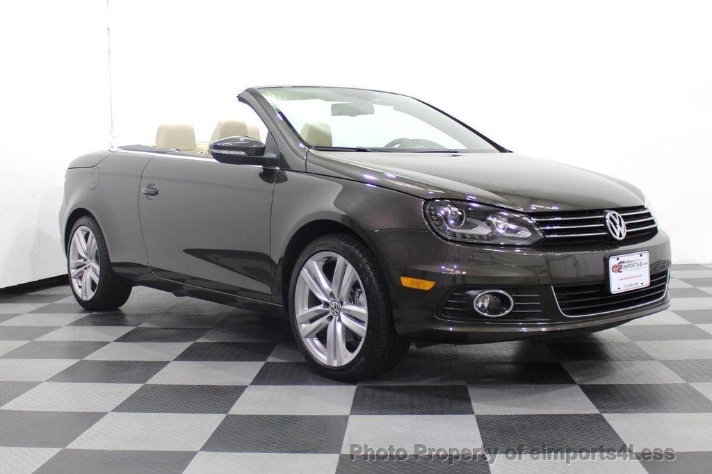 2014 Volkswagen Eos CERTIFIED EOS EXECUTIVE XENON NAV CAM DYNAUDIO - 18346381 - 56