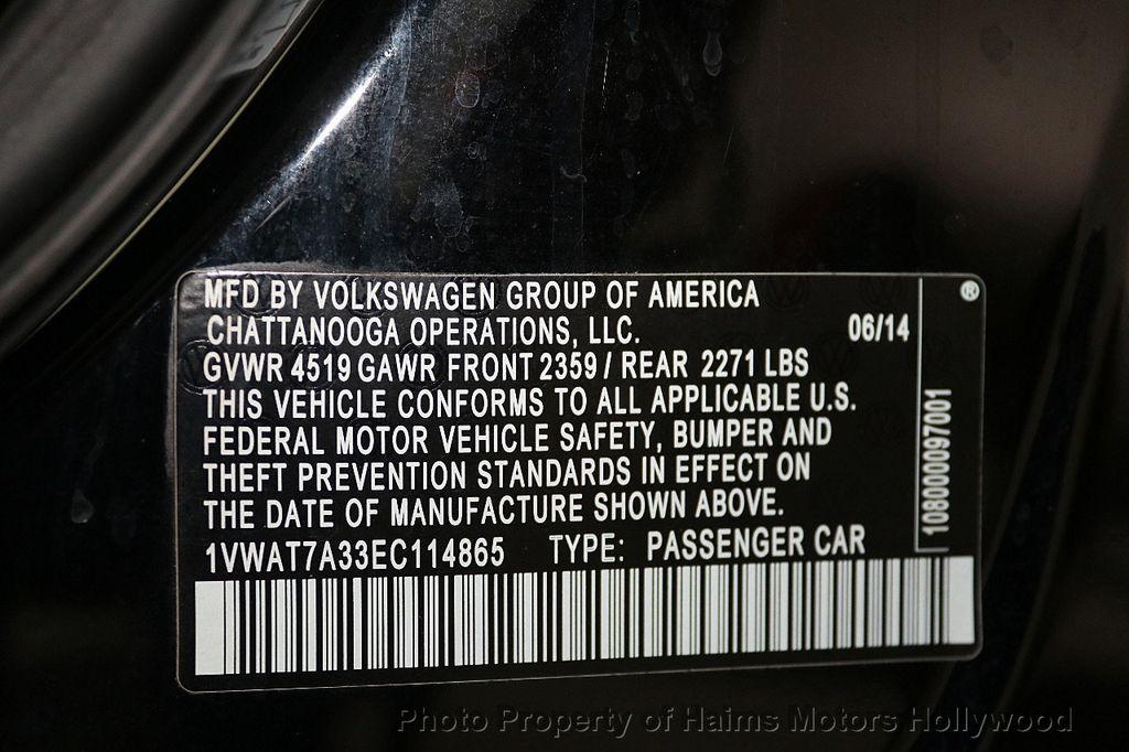 2014 Volkswagen Passat S - 17802207 - 28
