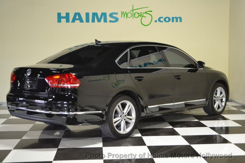 2014 used volkswagen passat tdi se at haims motors serving fort lauderdale hollywood miami fl. Black Bedroom Furniture Sets. Home Design Ideas